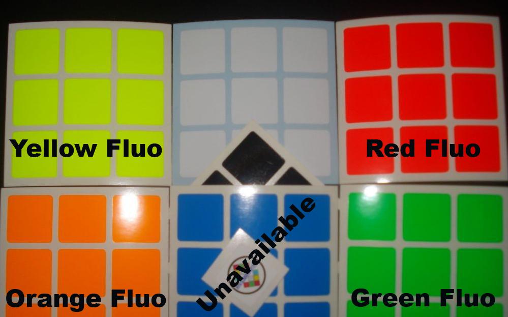 fluo colors